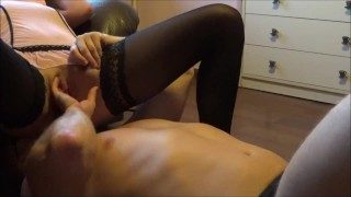 Two Awsome Cumming Orgasms After Face Sitting and Pussy Eatting